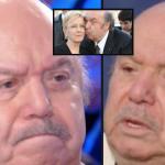 Lino-Banfi-in-lacrime-per-la-moglie-a-Verissimo