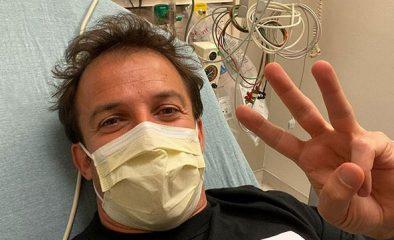 """Del Piero torna a casa dopo il ricovero: """"Adesso sto meglio"""""""