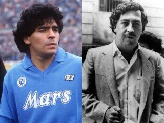 Quando Maradona giocò per Escobar, il più grande narcotrafficante della storia