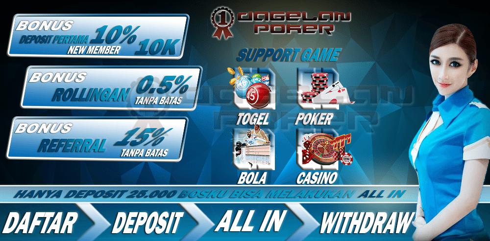 Poker Online Dan Togel Online Terpercaya
