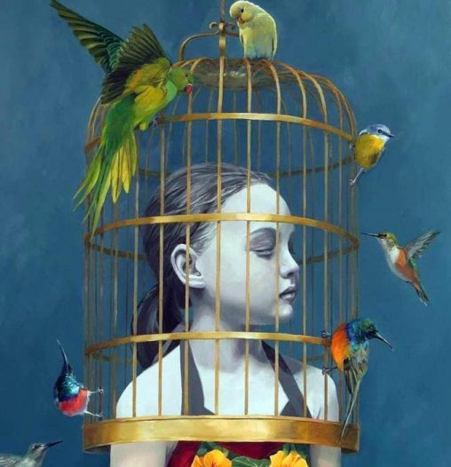 Girl in a Gilded Cage