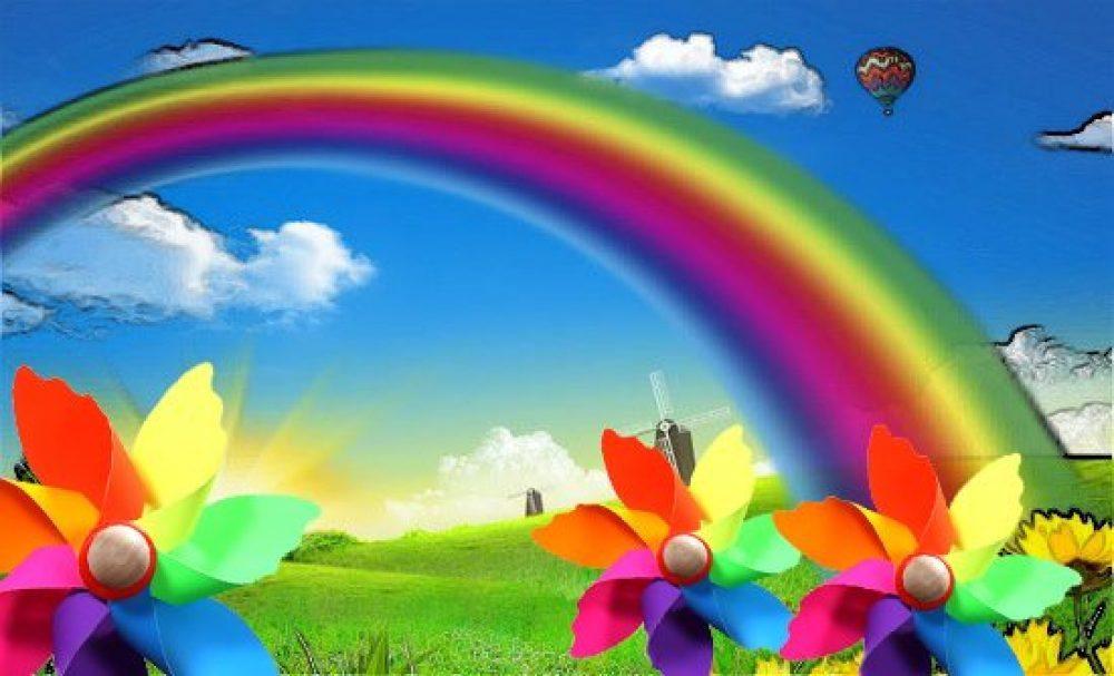 Il colore dei pensieri jk05 regardsdefemmes - Arcobaleno a colori e stampa ...