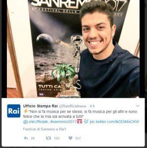 Sanremo 2017: la quarta serata in diretta