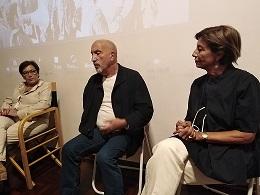 Andrea Punzo e Franca Mauro discutono del libro