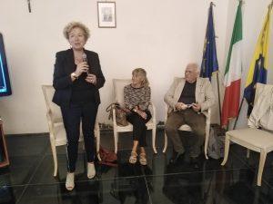 L'Assessore alla cultura Maria Teresa Moccia Di Fraia