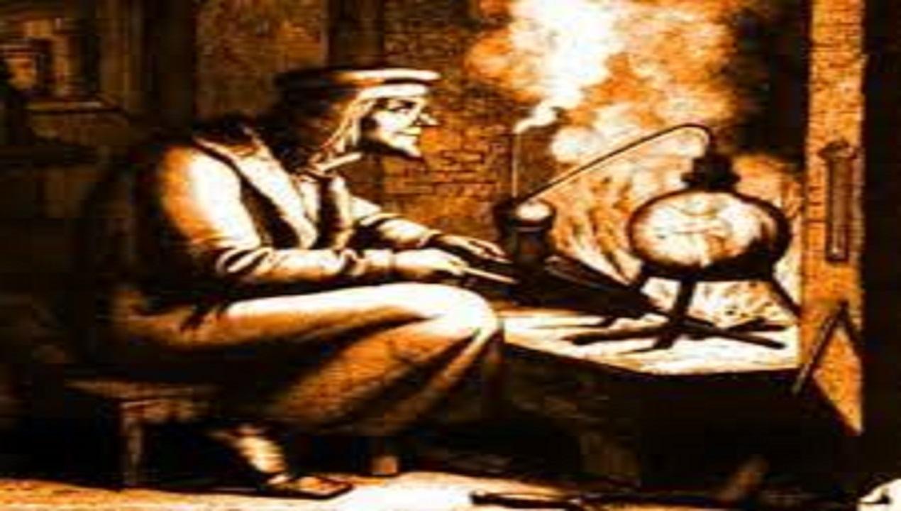 Quando parliamo di alchimia ci sovviene alla mente l'immagine di un uomo immerso in un ambiente cupo, circondato da scaffali colmi di libri, fiale e contenitori vari, avvolto da una densa nuvola di fumo acre, seduto davanti a un fornello su cui è poggiata una storta di vetro in cui bolle una misteriosa sostanza frutto di lunghissimi esperimenti finalizzati alla trasformazione del piombo in oro.