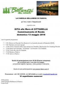 Gita a CITTADELLA