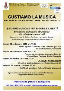GUSTIAMO LA MUSICA 2018-09-10