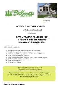 Gita a FRATTA POLESINE 1