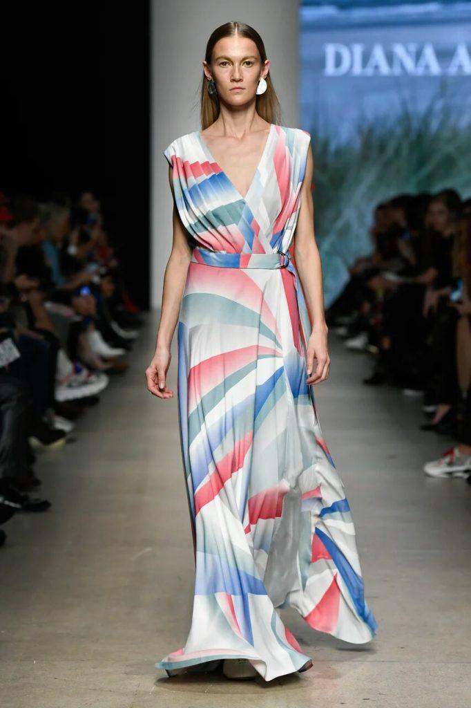Diana Arno alla Mercedes Benz Moscow Fashion Week
