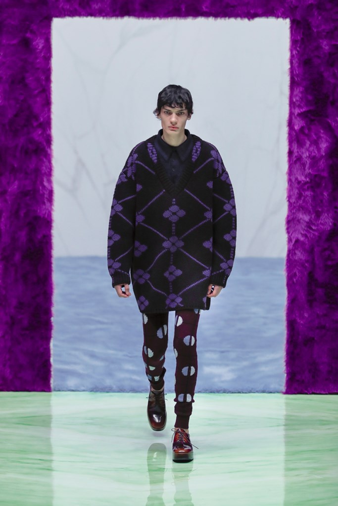 Prada alla Milano Fashion Week Uomo