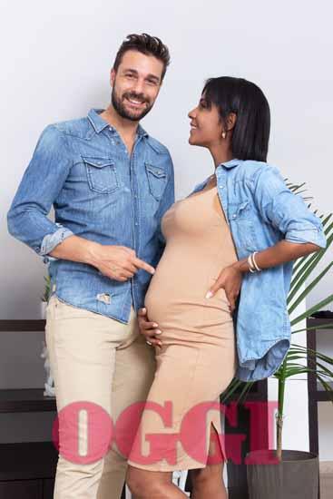 Georgette Polizzi è incinta