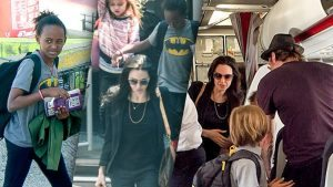 brad-pitt-angelina-jolie-fly-economy-class-with-kids-pp
