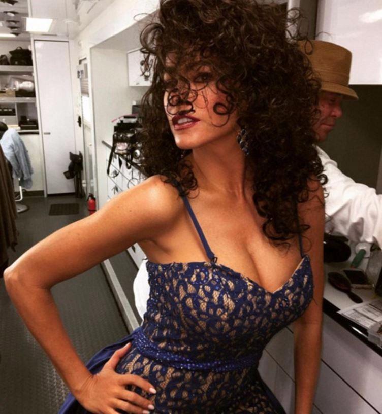 Sofia Vergara sexy sul set di