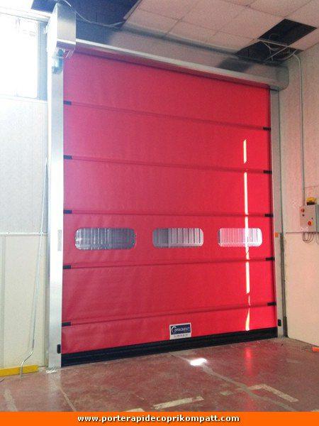 High-speed doors e porte ad impacchettamento