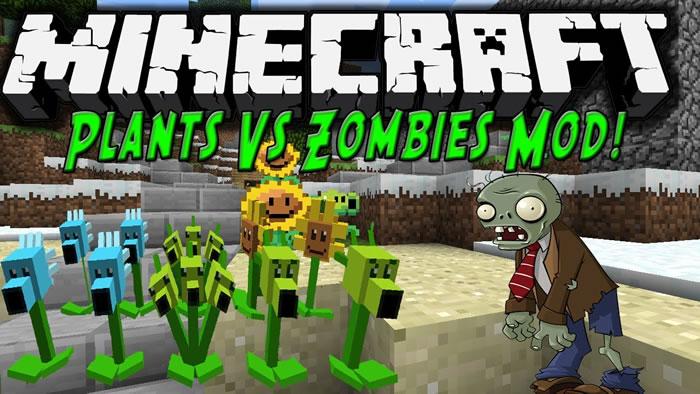 Plants vs Zombies Mod para Minecraft
