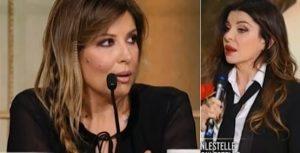 Alba Parietti insulta la Lucarelli e il fidanzato: