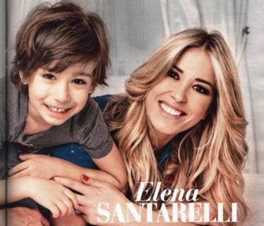 """Elena Santarelli: """"Mio figlio ha un tumore ma è più forte di me e mio marito�"""