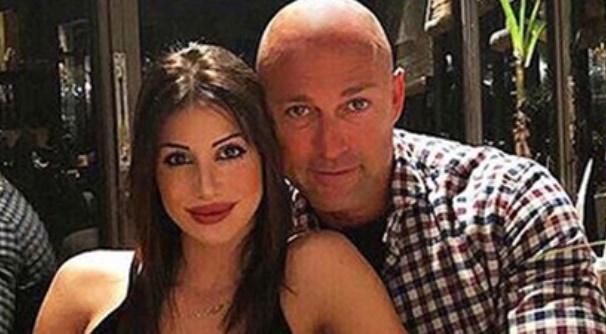 Stefano Bettarini e la fidanzata Nicoletta Larini