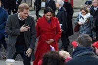 Regno Unito, il principe Harry e la Duchessa del Sussex Meghan in visita a Birkenhead