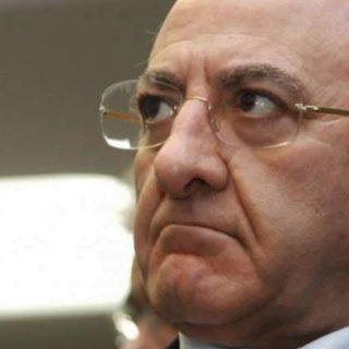 Vincenzo De Luca: dovrà restituire 38mila e 555 euro allo stato.