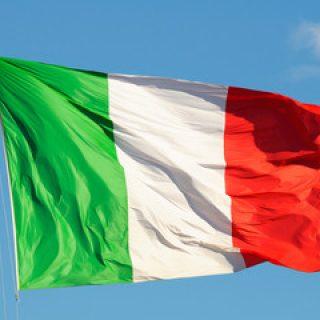 La storia della bandiera d'Italia inizia ufficialmente il 7 gennaio 1797, con la sua prima adozione come bandiera nazionale da parte di uno Stato italiano sovrano, la Repubblica Cispadana