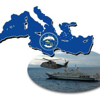 """L'Italia chiede """"un aggiornamento del mandato dell'operazione Sophia"""" per """"evitare che gli sbarchi dei migranti salvati dalle navi dell'operazione avvengano soltanto in Italia."""