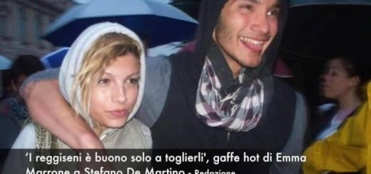 I reggiseni buono solo a toglierli gaffe hot di Emma Marrone con Stefano De Martino_08123344