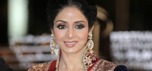 FILE - In this Dec. 1, 2012 file photo, Indian actress Sridevi arrives at the Marrakech International Film Festival in Marrakech, at the Marrakech Congress Palace. Sridevi, Bollywood's leading lady of the 1980s and '90s who redefined stardom for actresses in India, has died at age 54. The actress, known by one name, was described as the first female superstar in India's male-dominated film industry. Her brother-in-law Sanjay Kapoor speaking to the Indian Express online confirmed she died Saturday, Feb. 24, 2018,  in Dubai due to cardiac arrest.(AP Photo/Lionel Cironneau, File)