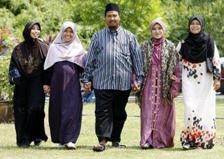 La poligamia, arma