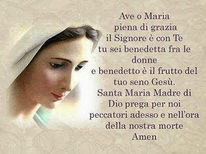 AVE O MARIA (IL SALUTO DELL'ANGELO)