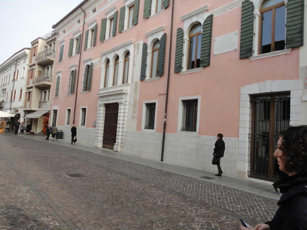 Pordenone  palazzo Pera e Sbroiavacca
