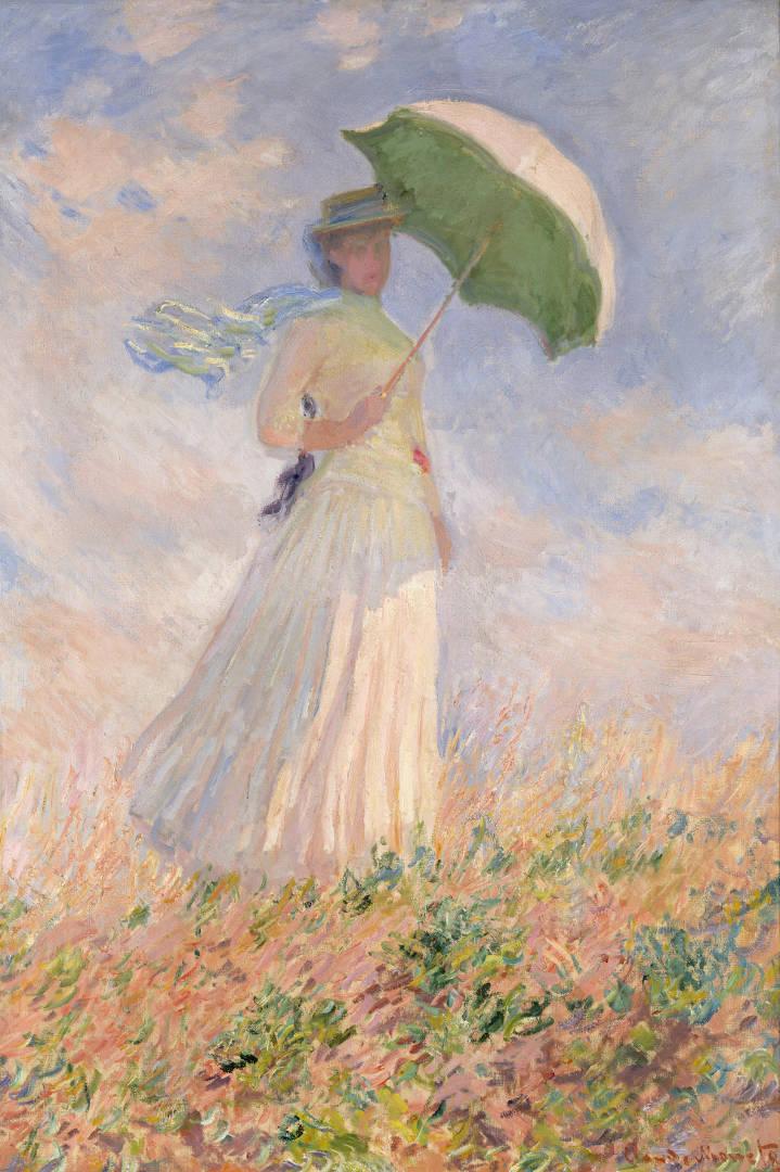 claude-monet_donna-con-il-parasole-girata-verso-destra-_mostra_torino_due-minuti-di-arte