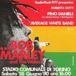 bob marley ticket
