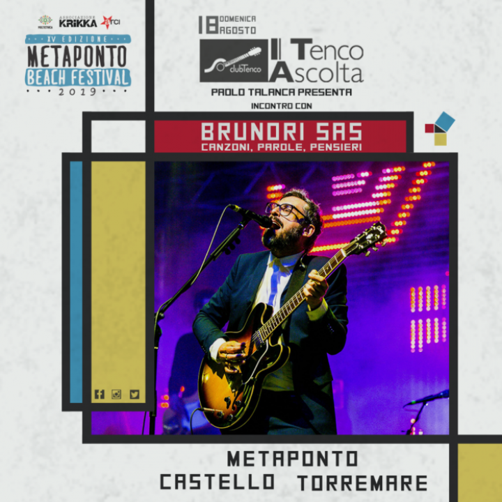 @Metaponto (MT) - Brunori Sas in concerto