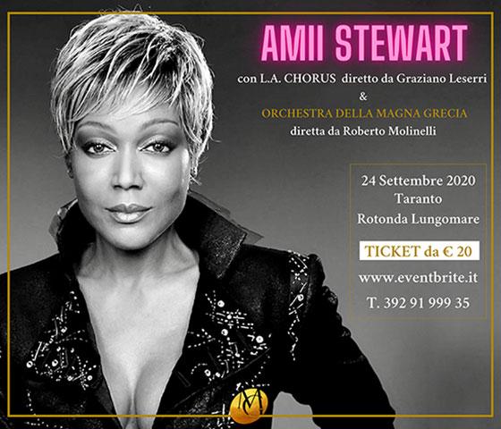 @Taranto - Ami Stewart in concerto