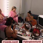 Giorgia Venturini col seno di fuori, Wanda Nara pubblica la story per sbaglio prima di Tiki Taka