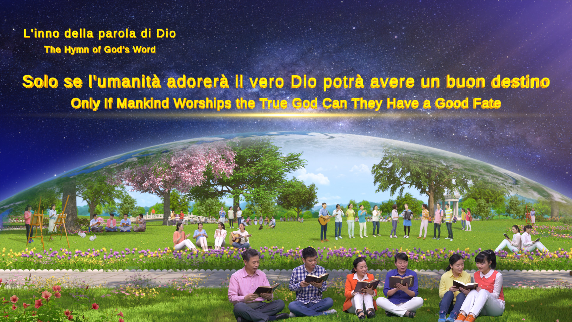 Solo se l'umanità adorerà il vero Dio potrà avere un buon destino
