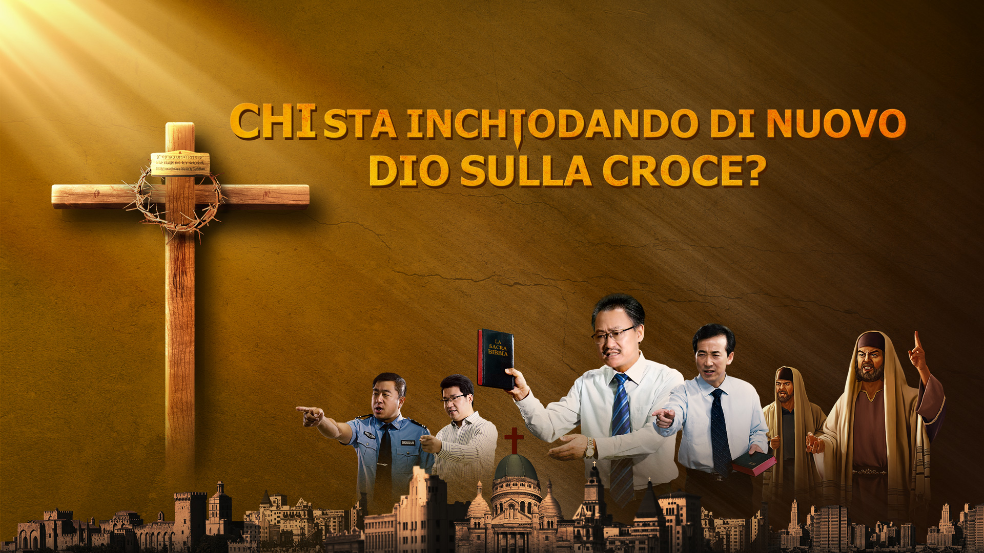"""La Chiesa di Dio Onnipotente film cristiano – """"Chi sta inchiodando di nuovo Dio sulla croce?"""" Trailer ufficiale HD"""