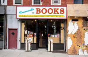 Independent bookstore, Unnameable Books, in the Prospect Heights neighborhood of Brooklyn in New York are scene on Saturday, August 30, 2014. (© Richard B. Levine)