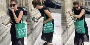 "EMMA WATSON E ""THE BOOK FAIRIES"""