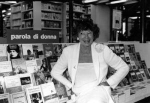 Inge Feltrinelli nel 1996, (LaPresse Torino/Archivio storico)