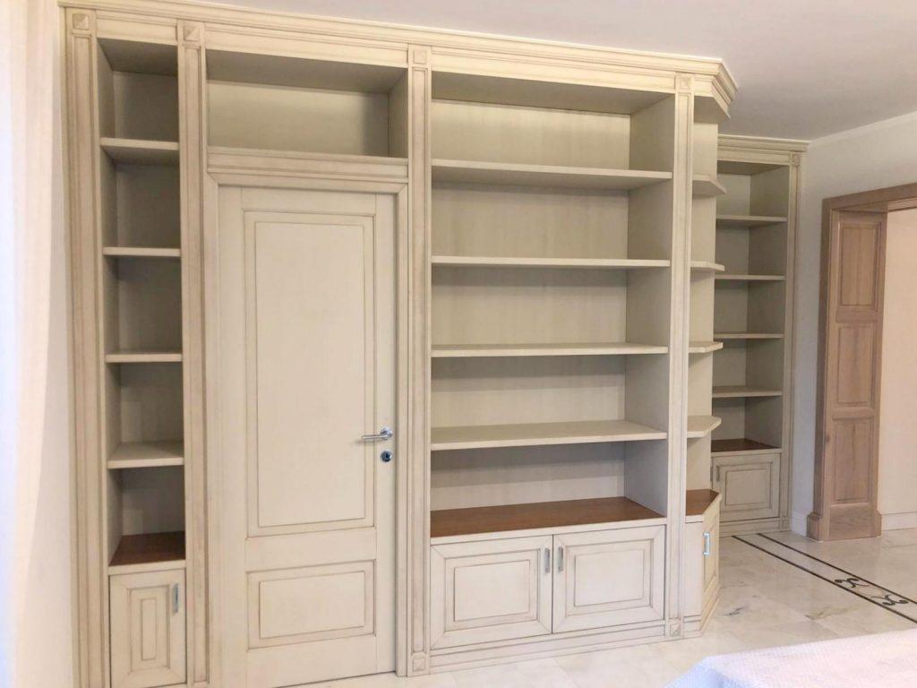 Librerie in legno laccato su misuraRoma