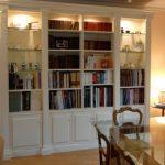 librerie classiche  laccate roma