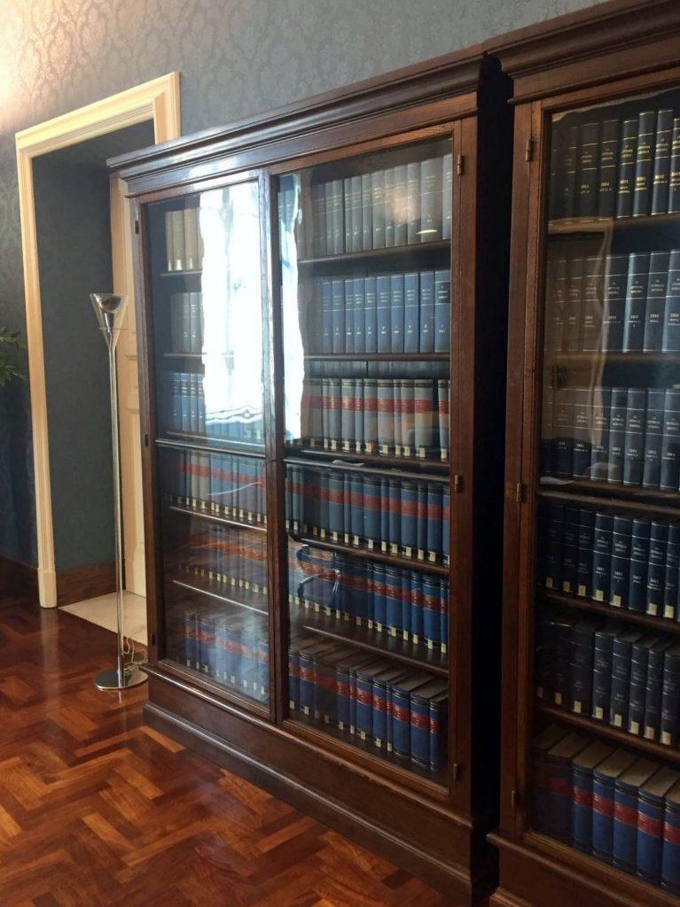 librerie in legno studio legale
