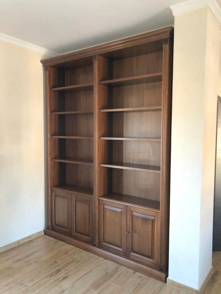 librerie a muro roma