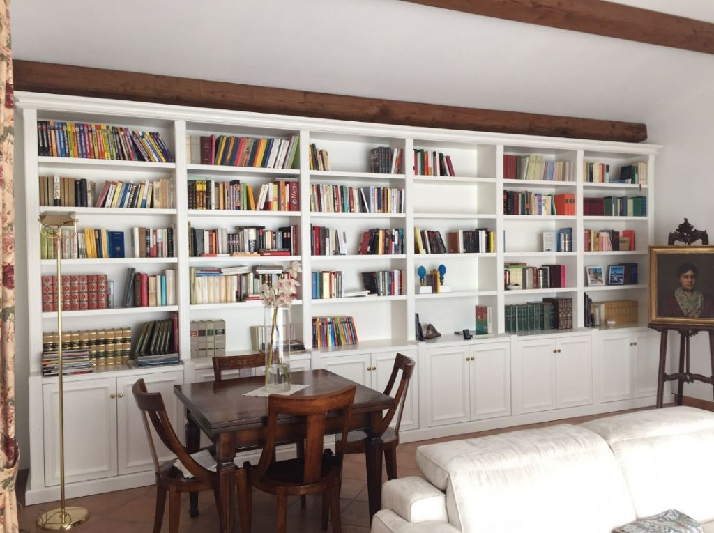 librerie a parete roma