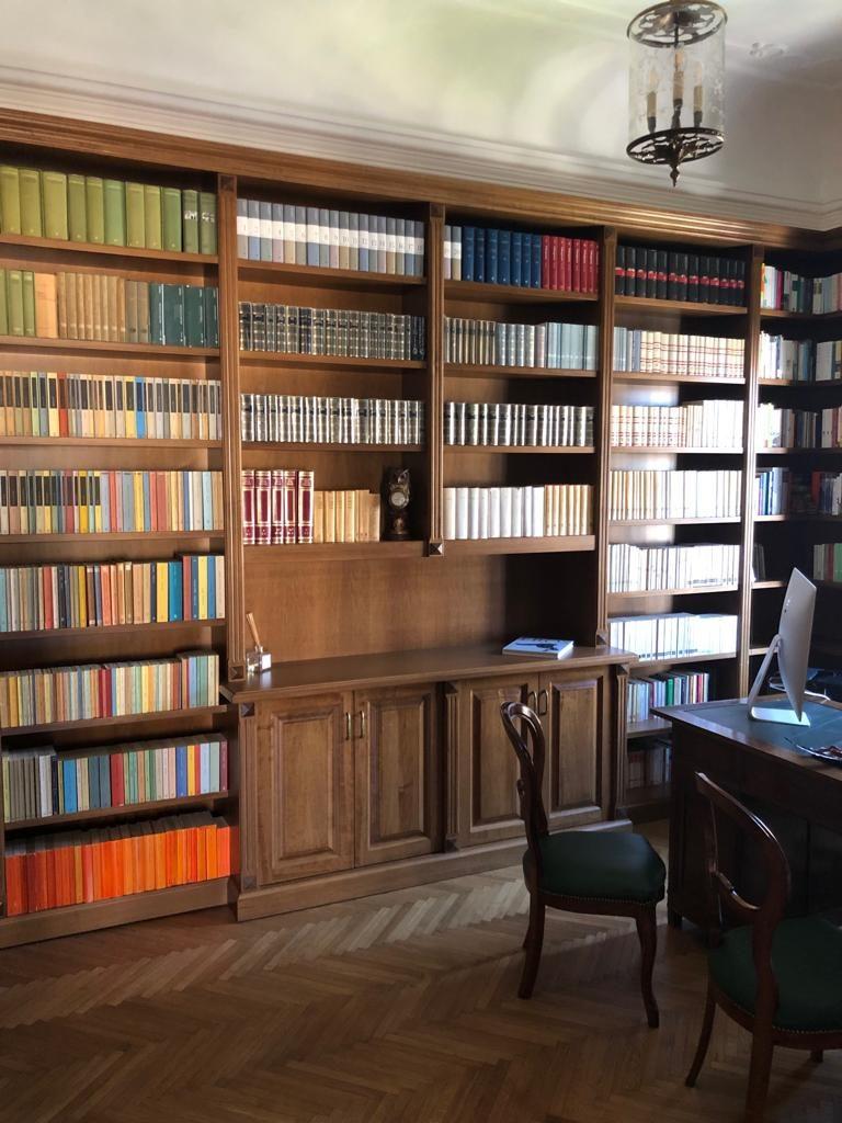 Costruire Libreria A Muro.Librerie Su Misura A Parete Roma Novita Librerie Su Misura Roma