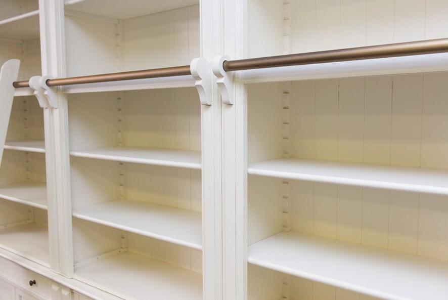 librerie laccate con scaletta roma