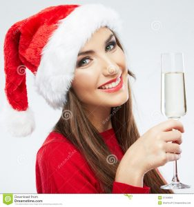 christmas-woman-portrait-hold-wine-glass-smiling-happy-girl-white-background-31154084